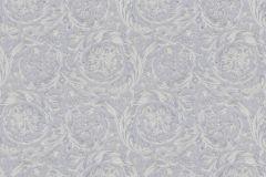36692-4 cikkszámú tapéta.Barokk-klasszikus,csillámos,különleges felületű,metál-fényes,ezüst,kék,szürke,súrolható,vlies tapéta