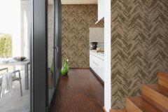 37051-2 cikkszámú tapéta.Absztrakt,barokk-klasszikus,fa hatású-fa mintás,különleges felületű,barna,súrolható,vlies tapéta