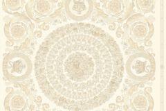37055-1 cikkszámú tapéta.Barokk-klasszikus,különleges felületű,metál-fényes,arany,bézs-drapp,súrolható,vlies tapéta