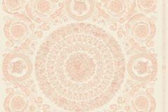 37055-6 cikkszámú tapéta.Barokk-klasszikus,különleges felületű,metál-fényes,bézs-drapp,pink-rózsaszín,súrolható,vlies tapéta