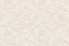 93583-2 cikkszámú tapéta.Barokk-klasszikus,különleges felületű,metál-fényes,fehér,gyöngyház,súrolható,vlies tapéta