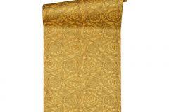 93583-3 cikkszámú tapéta.Barokk-klasszikus,különleges felületű,metál-fényes,arany,súrolható,vlies tapéta
