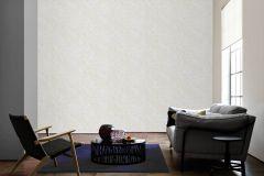 93585-2 cikkszámú tapéta.Barokk-klasszikus,különleges felületű,metál-fényes,virágmintás,ezüst,fehér,súrolható,vlies tapéta