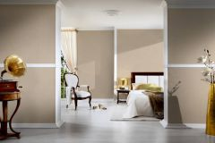 96233-2 cikkszámú tapéta.Egyszínű,különleges felületű,textilmintás,bézs-drapp,illesztés mentes,súrolható,vlies tapéta
