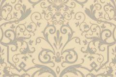 93545-5 cikkszámú tapéta.Barokk-klasszikus,szürke,vajszín,súrolható,vlies tapéta
