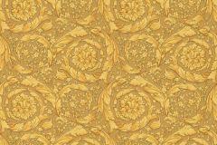 93583-3 cikkszámú tapéta.Barokk-klasszikus,barna,arany,súrolható,vlies tapéta
