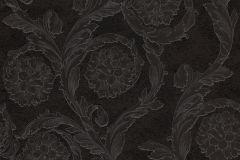 93588-4 cikkszámú tapéta.Barokk-klasszikus,szürke,fekete,súrolható,vlies tapéta