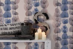 34245-5 cikkszámú tapéta.Absztrakt,csíkos,dekor tapéta ,különleges felületű,különleges motívumos,rajzolt,természeti mintás,bézs-drapp,kék,narancs-terrakotta,súrolható,illesztés mentes,vlies tapéta