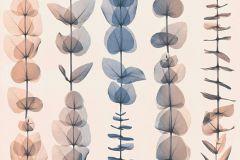34246-5 cikkszámú tapéta.Absztrakt,csíkos,dekor tapéta ,különleges motívumos,rajzolt,természeti mintás,bézs-drapp,kék,narancs-terrakotta,súrolható,illesztés mentes,vlies tapéta