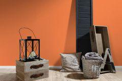 34248-5 cikkszámú tapéta.Dekor tapéta ,egyszínű,gyerek,különleges felületű,textil hatású,narancs-terrakotta,súrolható,illesztés mentes,vlies tapéta