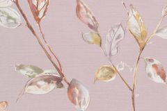 219450 cikkszámú tapéta.Különleges felületű,természeti mintás,virágmintás,narancs-terrakotta,pink-rózsaszín,sárga,erősen súrolható,vlies tapéta
