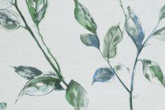 219452 cikkszámú tapéta.Különleges felületű,természeti mintás,virágmintás,kék,szürke,zöld,erősen súrolható,vlies tapéta
