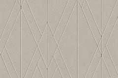 219710 cikkszámú tapéta.Absztrakt,geometriai mintás,különleges felületű,bézs-drapp,fekete,gyöngyház,lemosható,vlies tapéta