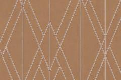 219714 cikkszámú tapéta.Absztrakt,geometriai mintás,különleges felületű,barna,gyöngyház,piros-bordó,lemosható,vlies tapéta