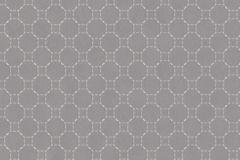 219723 cikkszámú tapéta.Absztrakt,geometriai mintás,különleges felületű,ezüst,szürke,lemosható,vlies tapéta