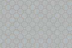 219727 cikkszámú tapéta.Absztrakt,geometriai mintás,különleges felületű,bézs-drapp,kék,lemosható,vlies tapéta