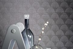 219128 cikkszámú tapéta.Absztrakt,különleges felületű,barna,erősen súrolható,vlies tapéta