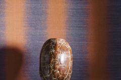 219143 cikkszámú tapéta.Dekor,különleges felületű,kék,narancs-terrakotta,erősen súrolható,illesztés mentes,vlies tapéta
