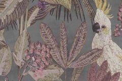 220123 cikkszámú tapéta.állatok,különleges felületű,természeti mintás,barna,piros-bordó,zöld,erősen súrolható,vlies tapéta