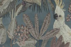 220124 cikkszámú tapéta.állatok,különleges felületű,természeti mintás,barna,szürke,zöld,erősen súrolható,vlies tapéta