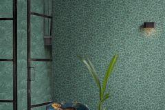 220144 cikkszámú tapéta.állatok,különleges felületű,zöld,erősen súrolható,vlies tapéta