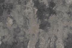 218006 cikkszámú tapéta.Egyszínű,kőhatású-kőmintás,különleges felületű,ezüst,fekete,szürke,erősen súrolható,vlies tapéta