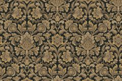 4522 cikkszámú tapéta.Barokk-klasszikus,arany,fekete,lemosható,vlies tapéta