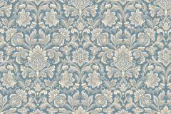 4524 cikkszámú tapéta.Barokk-klasszikus,bézs-drapp,bronz,kék,vajszín,lemosható,vlies tapéta