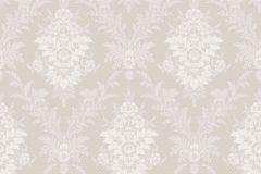4533 cikkszámú tapéta.Barokk-klasszikus,bézs-drapp,vajszín,lemosható,vlies tapéta