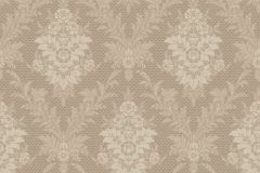 4534 cikkszámú tapéta.Barokk-klasszikus,bézs-drapp,bronz,vajszín,lemosható,vlies tapéta