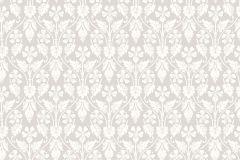 4537 cikkszámú tapéta.Barokk-klasszikus,bézs-drapp,szürke,lemosható,vlies tapéta