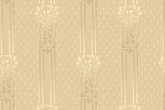4541 cikkszámú tapéta.Barokk-klasszikus,csíkos,arany,lemosható,vlies tapéta