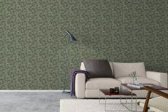 4544 cikkszámú tapéta.Természeti mintás,zöld,lemosható,vlies tapéta