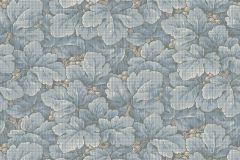 4545 cikkszámú tapéta.Természeti mintás,kék,lemosható,vlies tapéta