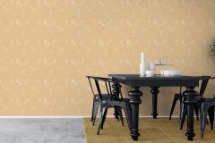 4548 cikkszámú tapéta.Barokk-klasszikus,természeti mintás,virágmintás,arany,vajszín,lemosható,vlies tapéta