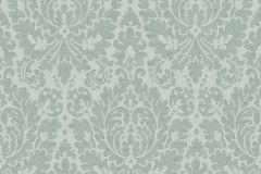 6720 cikkszámú tapéta.Barokk-klasszikus,szürke,zöld,lemosható,vlies tapéta