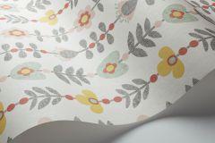33506 cikkszámú tapéta.Csíkos,különleges motívumos,rajzolt,retro,természeti mintás,virágmintás,fehér,kék,pink-rózsaszín,piros-bordó,sárga,zöld,lemosható,vlies tapéta
