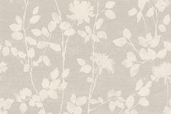 33515 cikkszámú tapéta.Különleges motívumos,rajzolt,retro,természeti mintás,bézs-drapp,pink-rózsaszín,lemosható,vlies tapéta