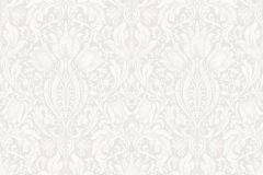 38601 cikkszámú tapéta.Barokk-klasszikus,fehér,szürke,lemosható,vlies tapéta