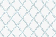 38609 cikkszámú tapéta.Különleges motívumos,fehér,kék,lemosható,vlies tapéta