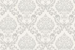3515 cikkszámú tapéta.Barokk-klasszikus,szürke,lemosható,papír tapéta