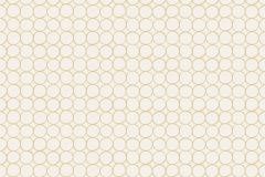3517 cikkszámú tapéta.Geometriai mintás,barna,lemosható,papír tapéta