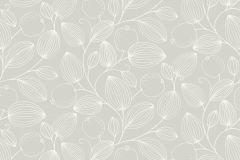 3530 cikkszámú tapéta.Természeti mintás,fehér,szürke,lemosható,papír tapéta
