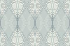 3537 cikkszámú tapéta.3d hatású,geometriai mintás,kék,szürke,lemosható,papír tapéta