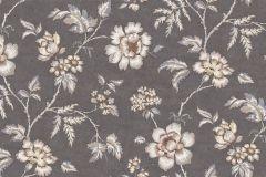 3001 cikkszámú tapéta.Virágmintás,természeti mintás,különleges motívumos,rajzolt,különleges felületű,fehér,szürke,barna,bézs-drapp,vajszínű,lemosható,vlies tapéta