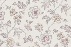 3002 cikkszámú tapéta.Virágmintás,természeti mintás,különleges motívumos,pink-rózsaszín,bézs-drapp,sárga,vajszínű,lemosható,vlies tapéta