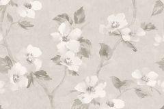 3582 cikkszámú tapéta.Virágmintás,szürke,súrolható,vlies tapéta