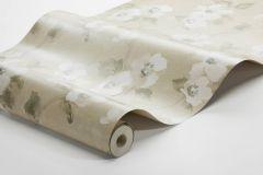 3584 cikkszámú tapéta.Virágmintás,bézs-drapp,súrolható,vlies tapéta
