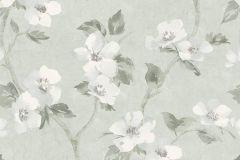 3585 cikkszámú tapéta.Virágmintás,szürke,súrolható,vlies tapéta