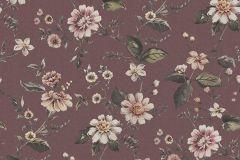 3591 cikkszámú tapéta.Virágmintás,pink-rózsaszín,piros-bordó,súrolható,vlies poszter, fotótapéta